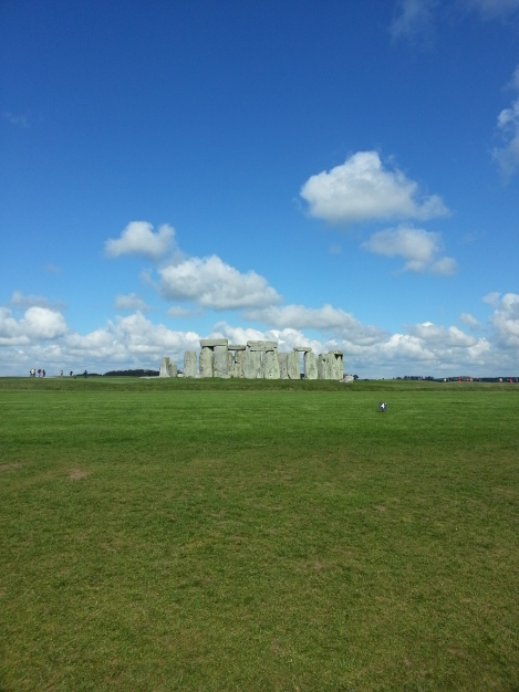 Stonehenge from afar.